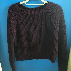 XS Maroon American Eagle Sweater